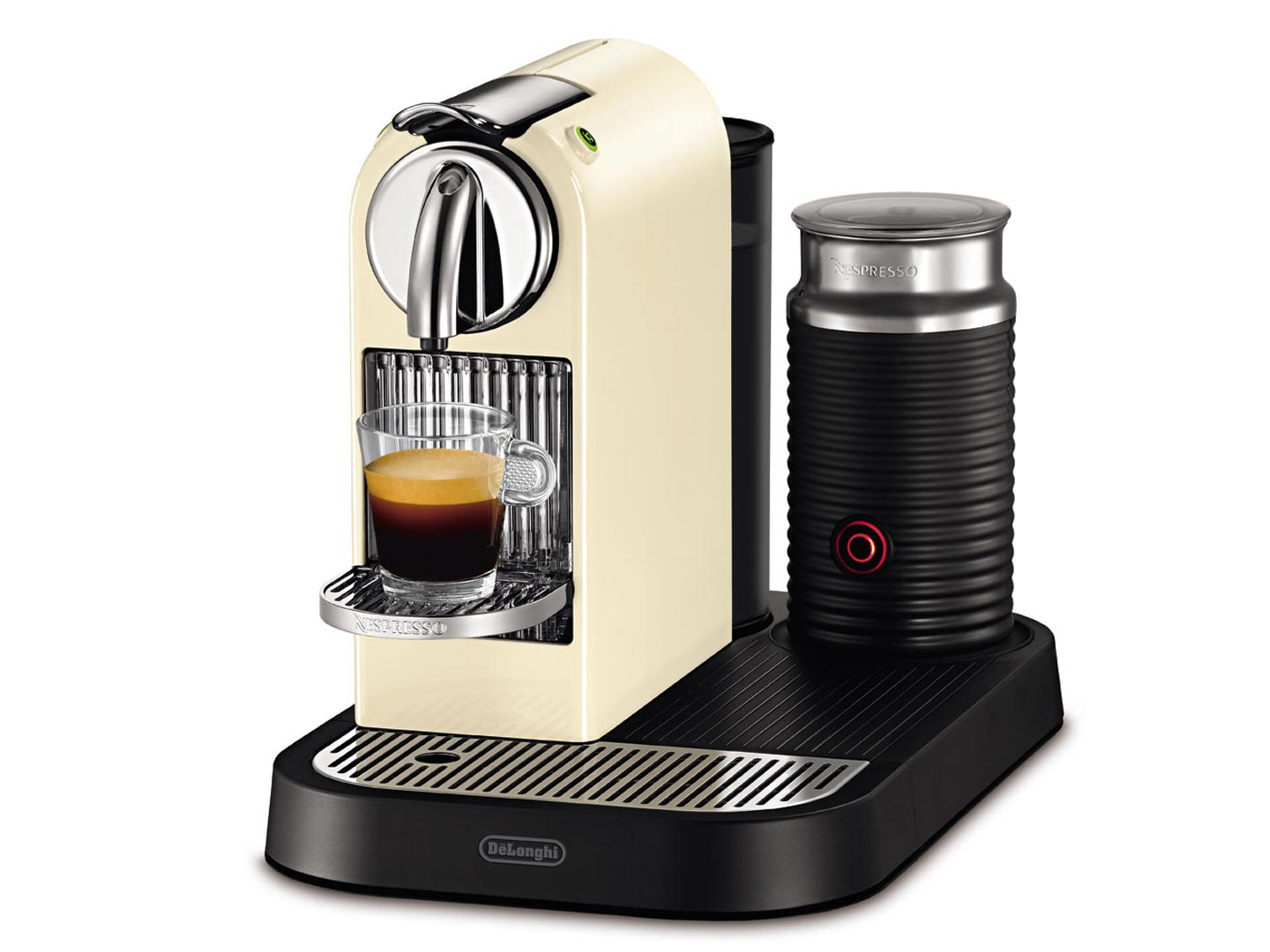 Капсульная кофеварка DeLonghi NESPRESSO CITIZ and MILK EN 266.CWAE